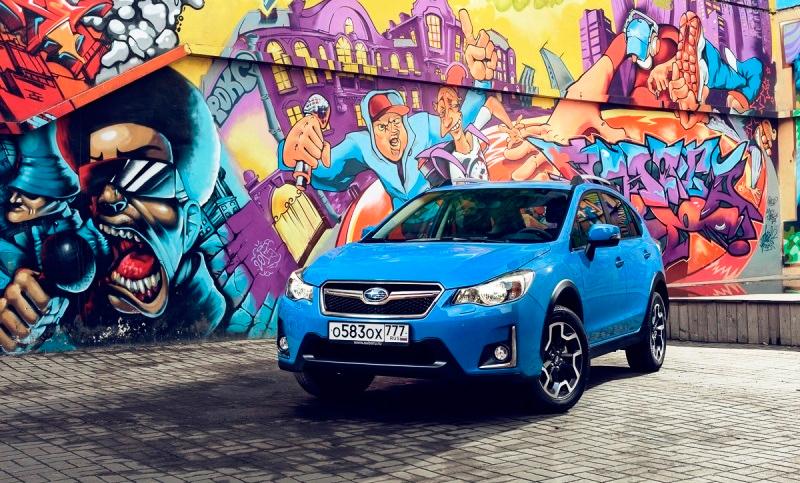 Начались продажи обновленного Subaru XV